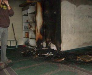 إضرام النار في مسجد بالعاصمة الألمانية