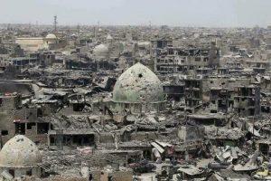 """""""ناشونال إنترست"""": """"التحالف الدولي"""" يدمر مدن العراق بذريعة إنقاذها.. الموصل نموذجا"""