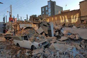 مئات الضحايا بزلزال إيران وحداد بمحافظة كرمانشاه