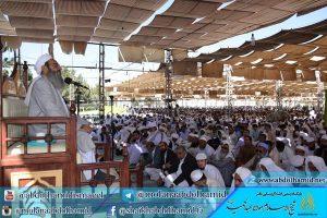 فضيلة الشيخ عبد الحميد يطالب بفتح المعابر الحدودية والمبادلات التجارية في محافظة سيستان وبلوشستان