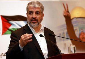 خالد مشعل: الإدارة الأمريكية تلقت صفعة قوية من المجتمع الدولي