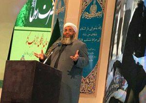 الشيخ عبد الغني البدري يكشف عن مضايقات تعرضت لها مؤسسة محسنين الخيرية في كرمانشاه