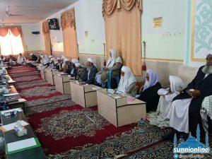 جلسة رؤساء المدارس الدينية لأهل السنة في محافظة سيستان وبلوشستان
