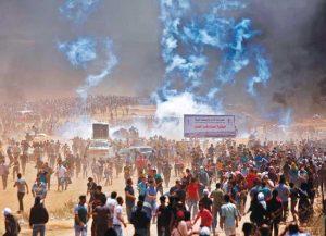 في ذكرى النكبة.. 55 شهيدا وآلاف الجرحى، وأمريكا تلوم الفلسطينيين