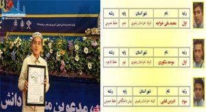 تلاميذ من أهل السنة يفوزون في مسابقات حفظ القرآن العامة