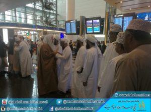 فضيلة الشيخ عبد الحميد يسافر إلى سلطنة عمان