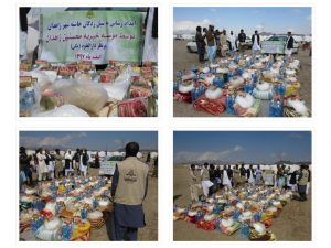 مساعداتُ مؤسسة محسنين الخيرية لمتضرري الفيضانات في زاهدان