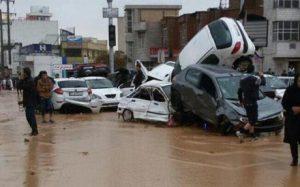 ارتفاع عدد ضحايا السيول فى إيران إلى 19 قتيلا و105 مصابين