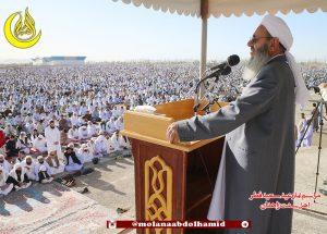 على السلطات الاجتناب من ممارسة القمع والضغوط الدينية ضد أهل السنة