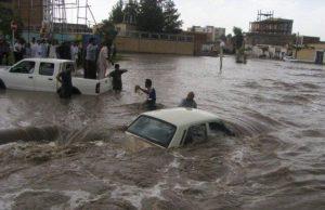 فيضانات تدمر مناطق في جنوب محافظة سيستان وبلوشستان
