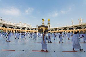 تطبيق الإجراءات الاحترازية داخل المسجد الحرام مع بدء المرحلة الثالثة لموسم العمرة