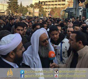 واجه مولانا عبدالحمید، مرحوم آیتلله هاشمی رفسنجانیِ جنازها حاضر بوت
