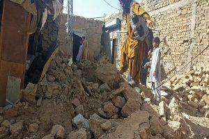 بلوچستان: ھرنائی ءَ 5.9 ترندی ءَ زمین چنڈ، بیست مردم بیران