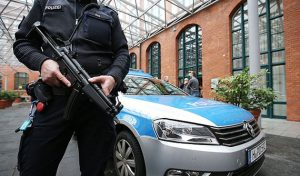 Bombs hit mosque, congress centre in Germany