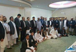 Sunni MPs Meet Shaikh Ab. Hamid