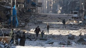 Dodging death in East Aleppo as a journalist