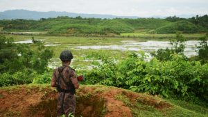 Myanmar troops open fire on civilians fleeing attacks
