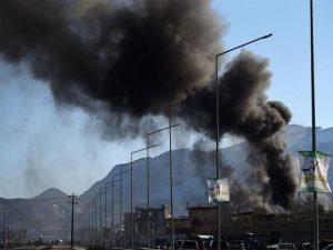 Three killed as blast rocks Kabul's diplomatic zone