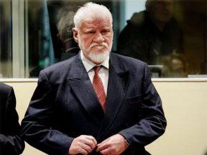 Bosnian Croat Slobodan Praljak dies on drinking poison