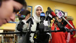 Canada schoolgirl attacked with scissors over hijab
