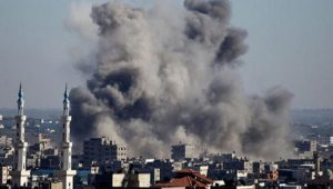 Israel hits Hamas-linked site in Gaza
