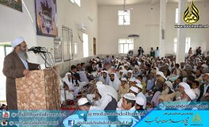 Ml. Ab. Hamid Concerned on Educational Situation in IR Balochistan