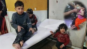 Syria chemical attack: Scores killed in Douma, rescuers say