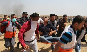 Israeli army kills seven Palestinians, wounds 1,000 at Gaza rally