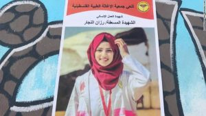 In memory of Razan al-Najjar
