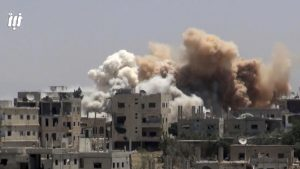 Syrian Observatory: Russian air raids kill 13 civilians