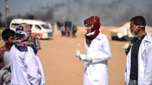 Gaza volunteer killed on Israel border