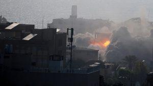 Israeli air raids kill two Palestinian teens in Gaza