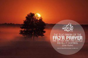 Tips for getting Fajr (dawn) prayer done!