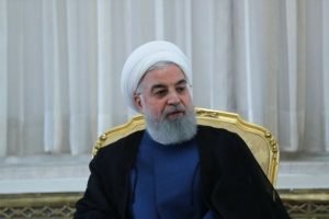 Rouhani: Iran cannot talk to US while under sanctions