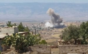 Syrian army resumes bombardment in rebel-held Idlib