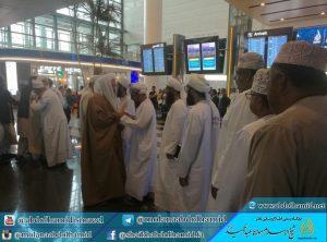 Shaikh Ab. Hamid Reaches Oman