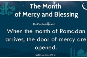 Ramadan's first 10: Days of pure mercy