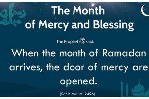 Ramadan's first 10: Days of pure mercy