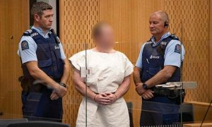 N.Zealand massacre suspect charged with terror offense
