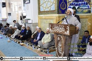 Iranian Sunni Seminaries Believe in Unity, Fraternity & Temperance