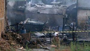 Pakistan plane crashes, killing more than a dozen in Rawalpindi