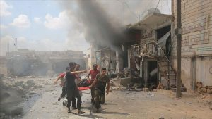 At least 17 killed in Syrian government attack on Idlib province