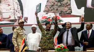 Sudan military council, protest leaders sign landmark transition deal