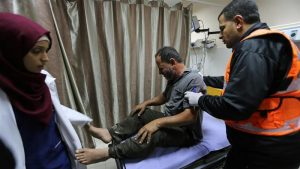 Israeli air raids in Gaza kill Palestinian, wound two