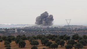 Russian airstrike kills six civilians in Syria: Monitor