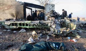 Iran's Guard accepts responsibility for shooting down Ukrainian jet