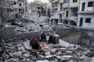 Idlib locals welcome Ramadan among ruins left by Russian, regime attacks