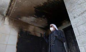 Israeli settlers set fire to mosque in al-Bireh