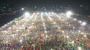 PDM shows off street power in Karachi
