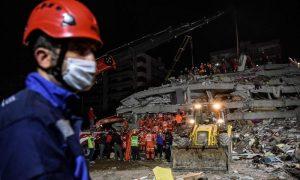 Deadly earthquake rocks western Turkey, Greece